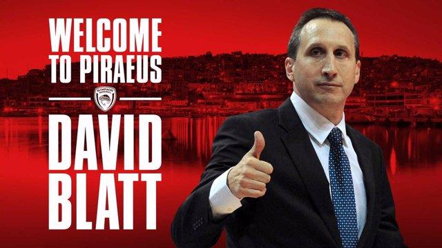 David Blatt, nuevo entrenador del Olympiacos