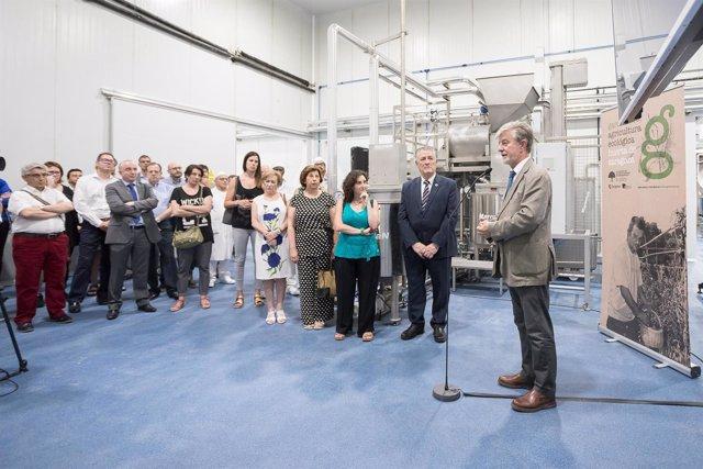 Atades inaugura la primera planta de transformación agroecológica en Aragón