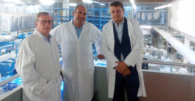 [Grupoasturias] Np, Audios Y Fotos Visita Consejero Sanidad Lavanderías Francesa