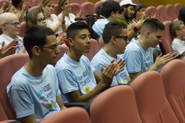 Alumnos en el 'Campus inclusivos, Campus sin límites' de 2017