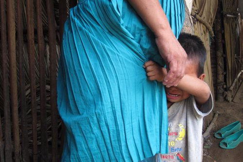 Familia en Guatemala
