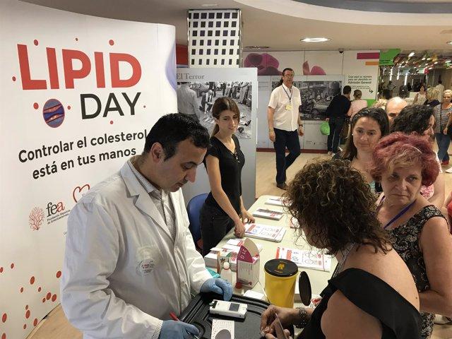 Instante del 'Lipid Day'