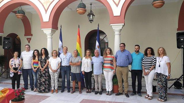 Reconocimiento en el Ayuntamiento de Alcalá de Guadaíra al colectivo Lgtbi.