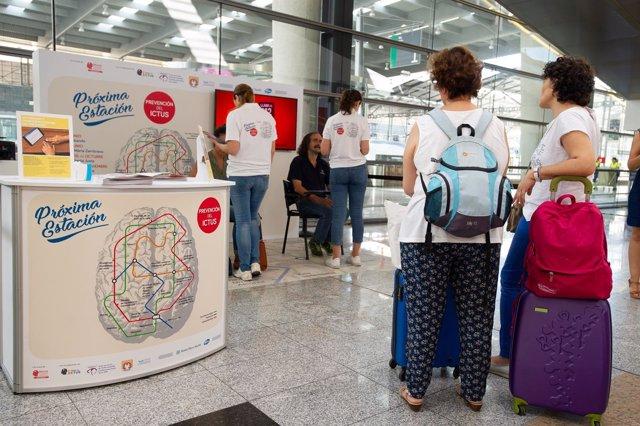 Campaña de prevención del ictus Málaga