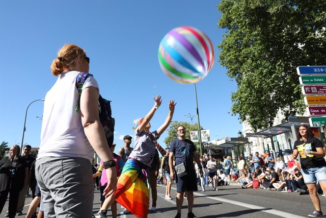 Manifestación del Orgullo en el WorldPride