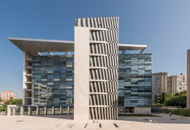 Edificio de Hispania en Madrid