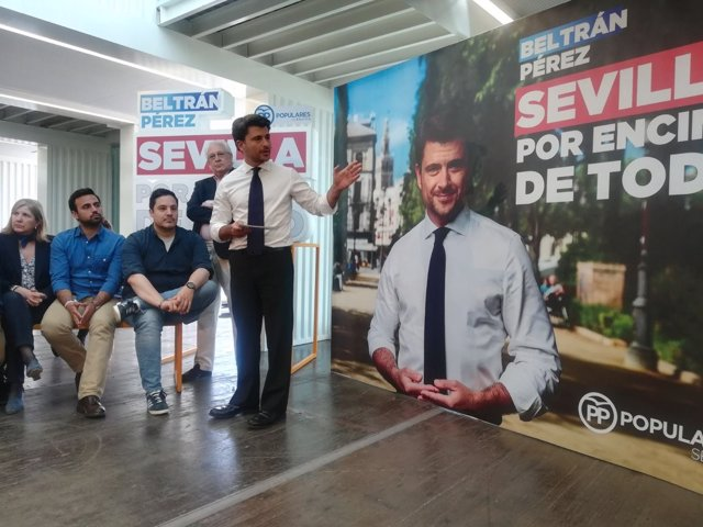 Beltrán Pérez presenta su campaña