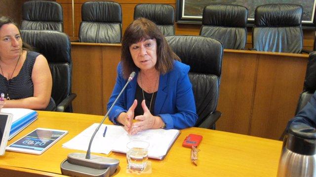 La exministra de Medio Ambiente, Cristina Narbona