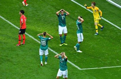 Alemania se pega el mayor batacazo de su historia