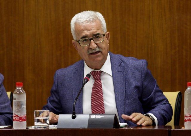 Jiménez Barrios en la comisión parlamentaria de Asuntos Exteriores