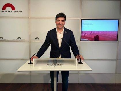 Sabrià (ERC) afirma que la suspensión de los diputados procesados la decidirá el Parlament