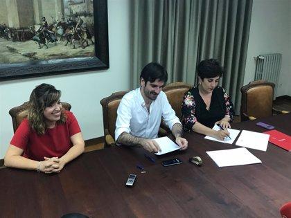 Educación y el Ayuntamiento de Tudela suscriben un convenio para la gestión del Conservatorio Fernando Remacha