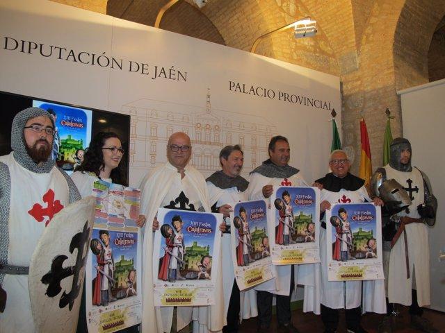 Presentación de las XIII Fiestas Calatravas de Alcaudete.