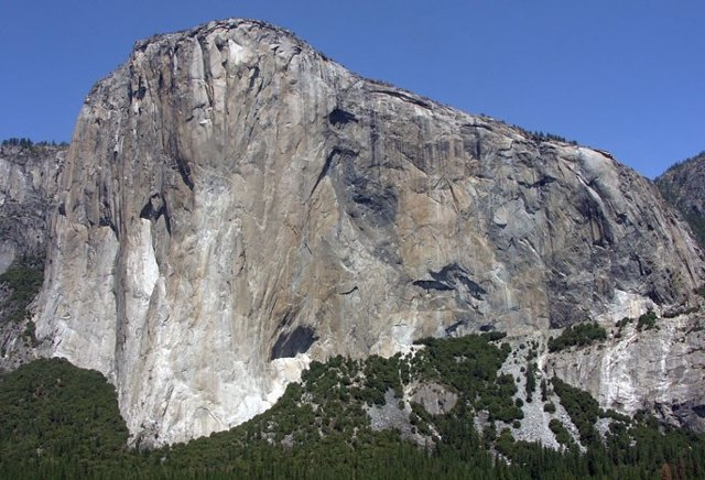 Mole de granito 'El Capitán' en Yosemite