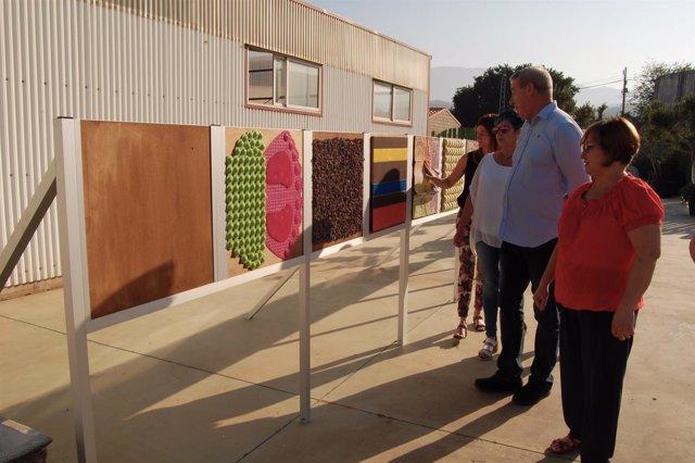 Presentación del nuevo jardín sensorial de Aprosmo