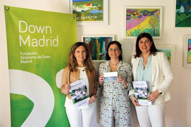 Bankia apoya el programa de formación 'Focus' de Down Madrid con 5.500 euros