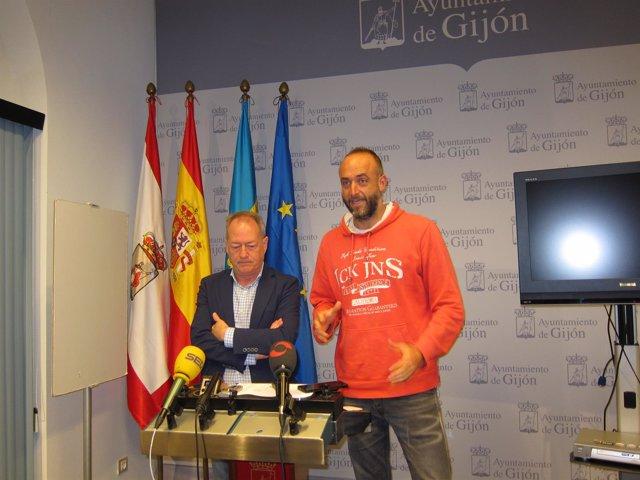Aurelio Martín y David Alonso