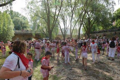 Celebrada la Batalla de Vino Infantil de Haro (La Rioja)