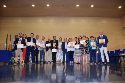 La Junta reconoce la innovación educativa y el trabajo en red de los docentes malagueños