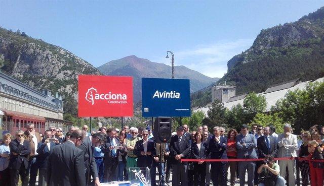 La UTE Canfranc, formada por Avintia y Acciona, rehabilitará la Estación