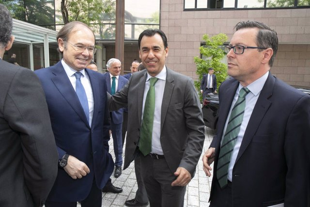 Pío García-Escudero y Martínez Maillo, en la Asamblea de Madrid