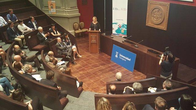 Gastón ha participado en esta sesión de la Cátedra APL, en el Paraninfo