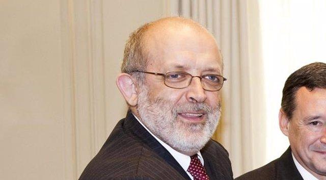 Ramón Camp, Félix Azón, Ángel Simón Y Ciril Rozman Firman Acuerdo CGPJ Y Agbar