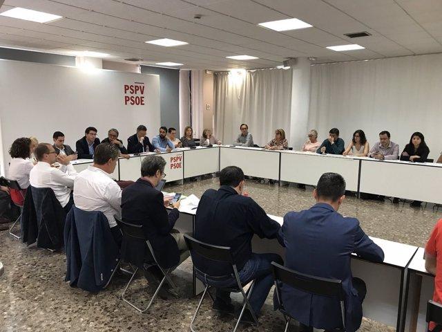 Puig preside la ejecutiva del PSPV