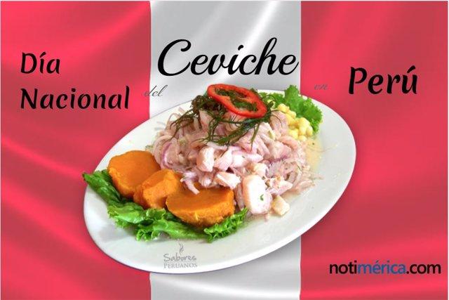 Día Nacional del Cebiche en Perú