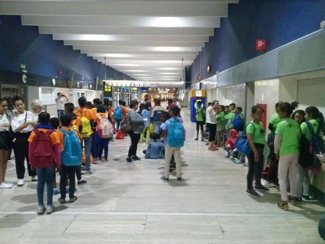 Menores saharauis llegan a Extremadura