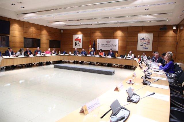 Montón preside el Consejo Interterritorial del Sistema Nacional de Salud