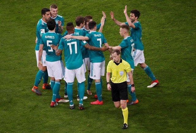 Jugadores de la Selección alemana de fútbol