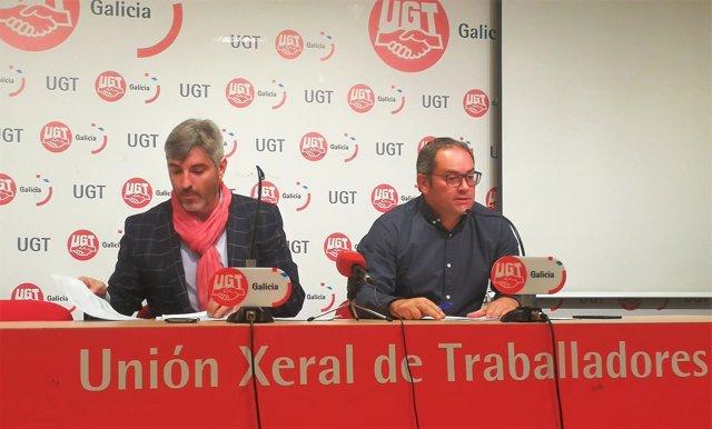 Presentación del 'Informe de Exclusión Financiera de Galicia 2018' de UGT.