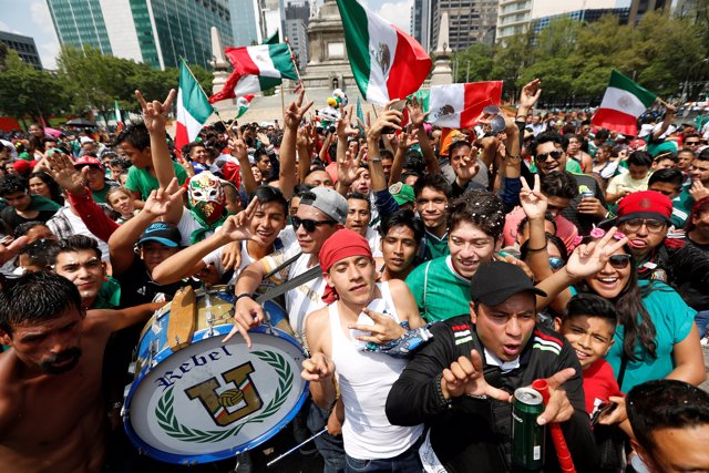 Soccer Football - FIFA World Cup - Group F - South Korea v Mexico - Mexico City,