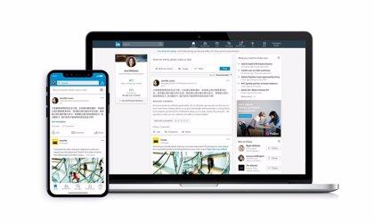 LinkedIn introduce la traducción instantánea, disponible para más de 60 idiomas