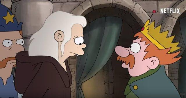 Revelan fecha de estreno de la nueva serie de Matt Groening — (Des)encanto