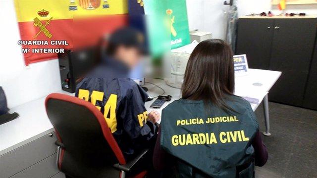 Operación de la Guardia Civil