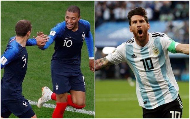 Francia - Argentina, duelo de octavos