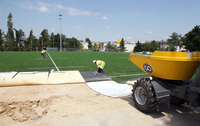 Alcobendas última Las Obras Del Campo De Rugby Que Tendrá