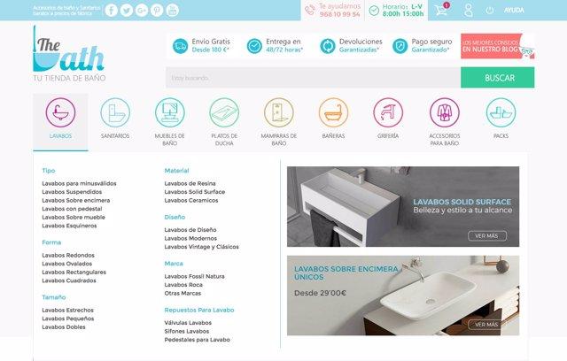 The Bath revoluciona el mercado online del baño 2a0d50c62ebc