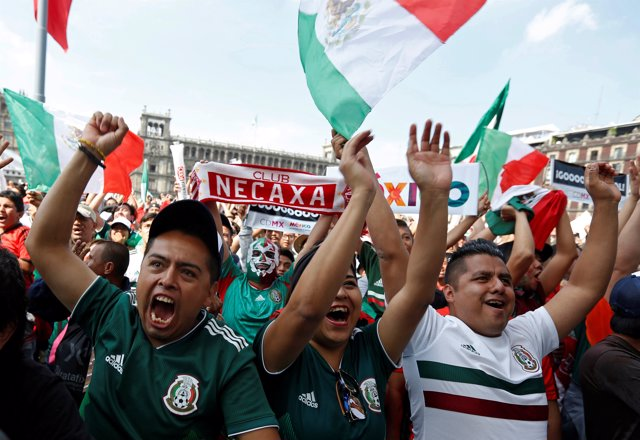 Soccer Football - World Cup - Group F - Mexico vs Sweden - Zocalo Square, Mexico