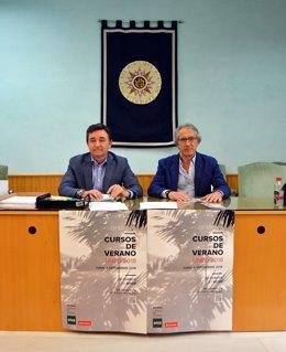 Presentación del curso de verano de la UNED en El Acebuche