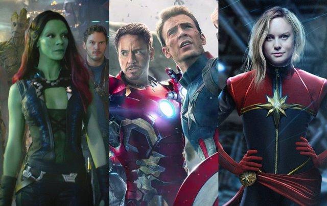 Guardianes de la galaxia, Vengadores, Capitana Marvel