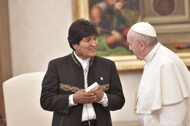 Evo Morales y el Papa