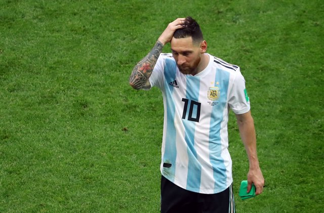 Messi se despide del Mundial de Rusia en octavos de final