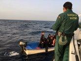 Foto: Desciende un 50% la llegada de inmigrantes en patera a las costas de la Región en el primer semestre del año