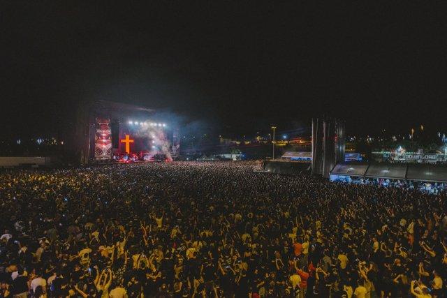 Ozzy Osbourne en el Download Festival