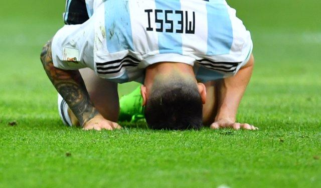Soccer Football - World Cup - Round of 16 - France vs Argentina - Kazan Arena, K