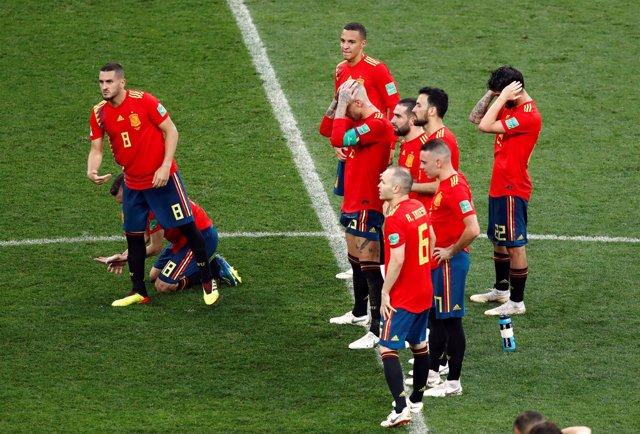 España, eliminada en octavos del Mundial por Rusia en los penaltis
