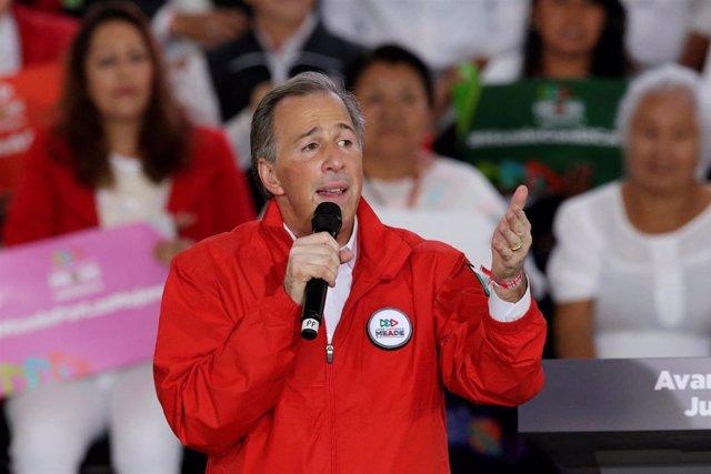 El candidato presidencial José Antonio Meade